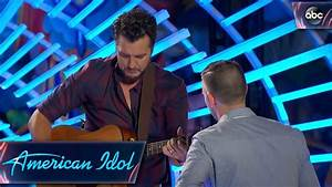 Luke Bryan Helps Out Auditioner by Tuning His Guitar ...