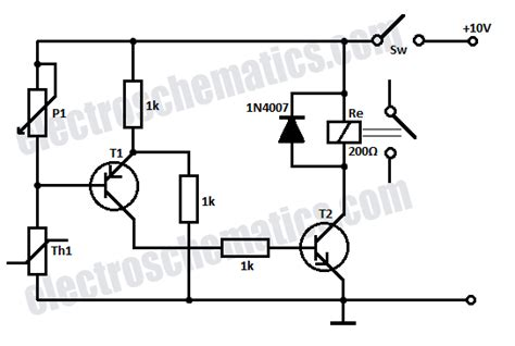 Time Delay Relay Wiring Diagram With Sensor by Time Delay Relay Circuit With 555