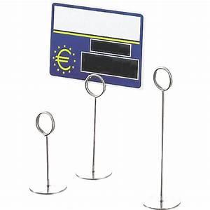 Porte Etiquette Prix : la bovida porte etiquette a pied 7 5cm ~ Teatrodelosmanantiales.com Idées de Décoration