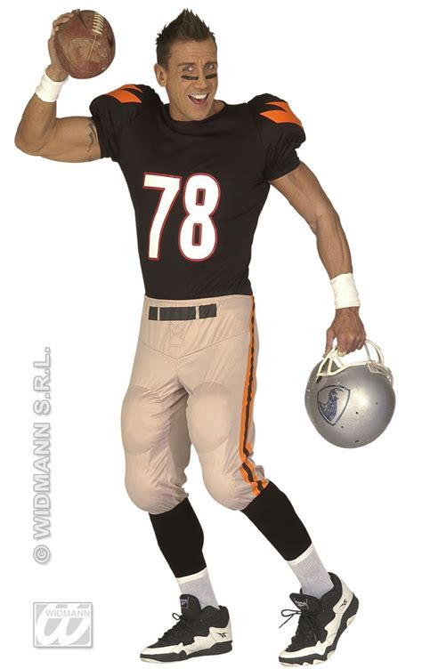 American Football Player Costume American football player costume - menu0026#39;s fancy dress costumes