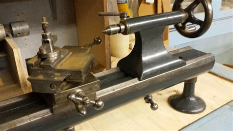 unknown vintage precision bench lathe   id