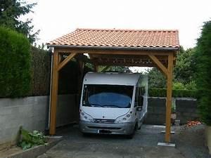 Abri Camping Car Bois : abri camping car en ch ne dim 4 x 8 x 3 m de passage sous ~ Dailycaller-alerts.com Idées de Décoration