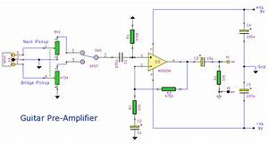Electronic Circuit Schematic  Electronic Circuit   Guitar