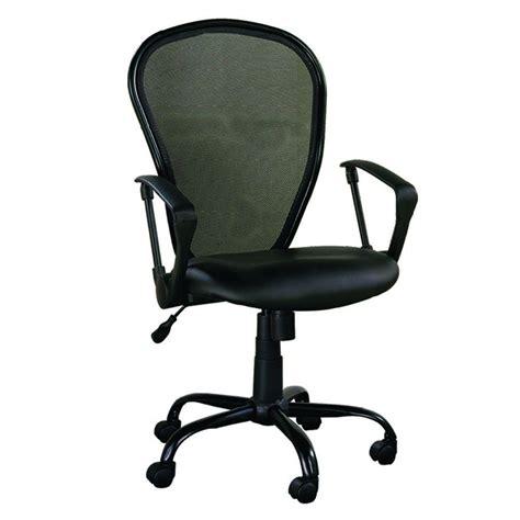 z line designs black office chair zl5004 1cu the home depot