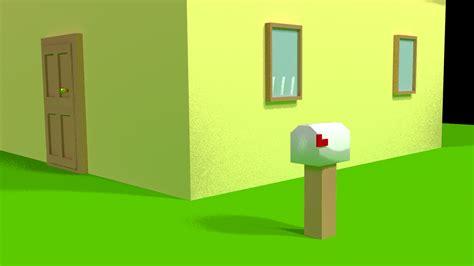 Cartoon House Blender