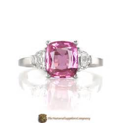 pink gemstone engagement rings engagement ring trends for 2009 the sapphire company