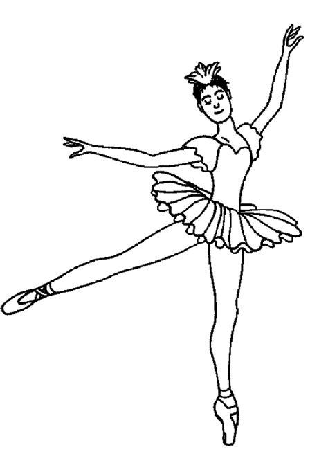 les jeux de fille et de cuisine coloriage danse classique en tutu hugolescargot com