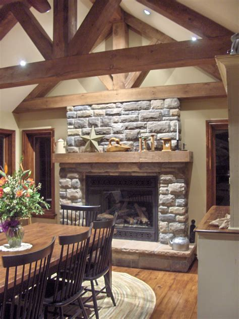 stone selex  toronto presents interior stone fireplace