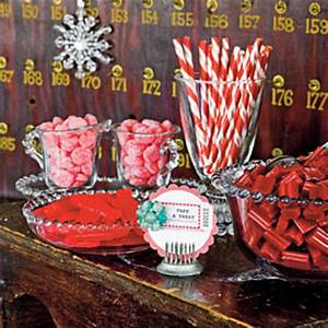 Candy Dessert Bar Christmas Party Ideas Vintage