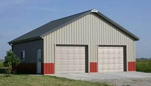 40 x 60 car shop joy studio design gallery best design With 30x30 pole barn plans