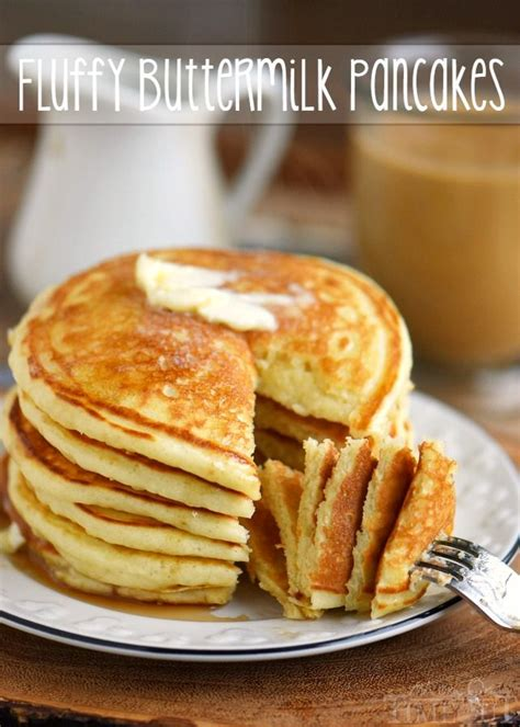 fluffy buttermilk pancakes recipe buttermilk