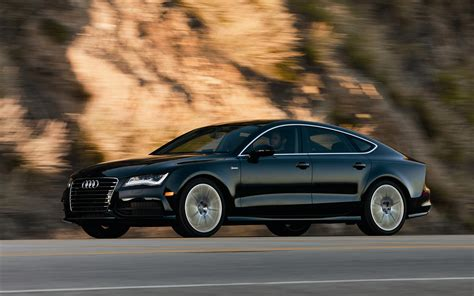 Audi A7 Backgrounds by Audi A7 2014 Black Hd Wallpaper Background Images