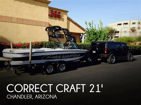 Ski Boats For Sale Arizona by Sold Correct Craft 21 Pro Air Nautique Boat In Chandler