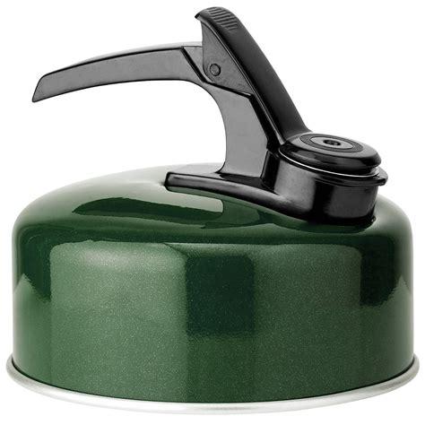 highlander kettle whistling navy dark aluminium camping water boil travel 2l support