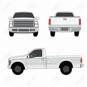Back Of Pickup Truck Clipart