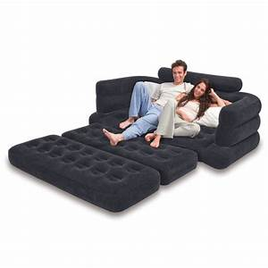 Sofa bed couch sleeper inflatable pull out sofa folding for Easy pull out sofa bed