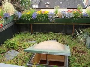 Toiture Terrasse Accessible : toiture terrasse accessible ou v g talis e notre dame de ~ Dode.kayakingforconservation.com Idées de Décoration