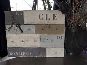 Porte Clé Mural Bois : panneau porte cl s mural en bois d coration int rieure maison pinterest panneaux porte ~ Nature-et-papiers.com Idées de Décoration