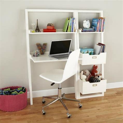 combiné bureau bibliothèque le bureau escamotable décisions pour les petits espaces