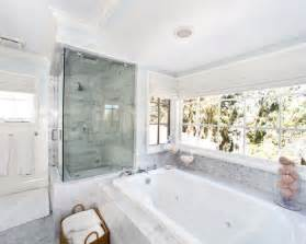 Jetted Bathtubs For Two by Marble Tile Bathroom Houzz