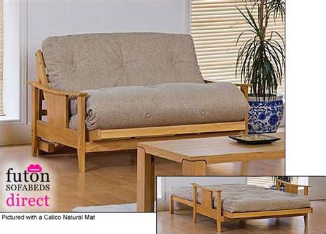 2 Seat Futon Sofa Bed #bedroom