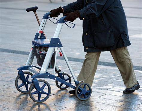 walker lightweight seniors walkers person rolling much choose wheels street