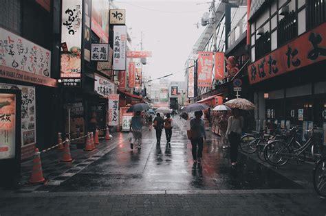 black umbrella umbrella asian japan japanese