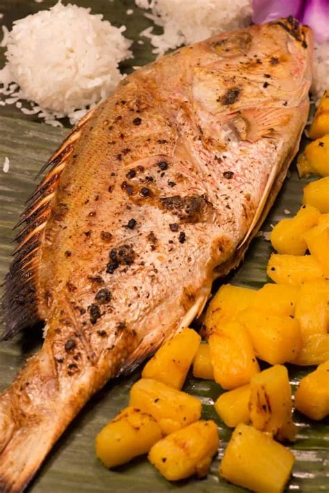 Marshallese Grilled Fish | Recipe | Island food, Grilled ...