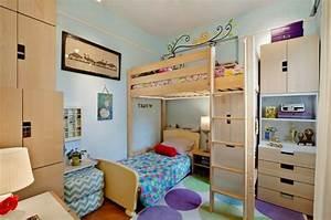 Schmales Kinderzimmer Einrichten : 1001 ideen zum thema kleines kinderzimmer einrichten ~ A.2002-acura-tl-radio.info Haus und Dekorationen