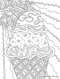 summer coloring pages doodle art alley