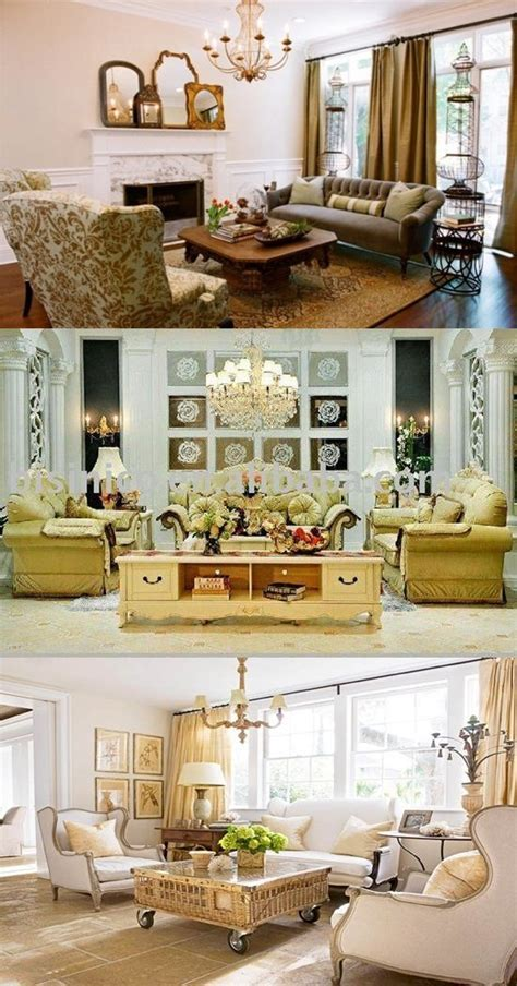 French country living room designs   Interior design
