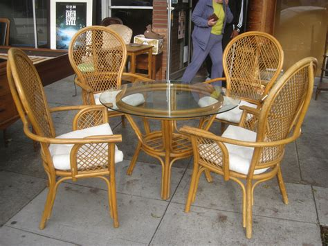 uhuru furniture collectibles sold wicker table and