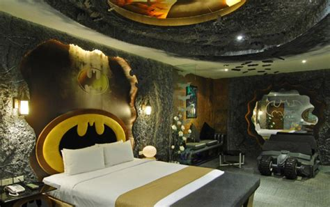 themed room batman themed hotel room opens in taiwan my site