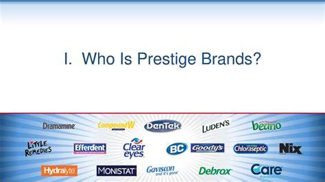 Prestige Brands Holdings (PBH) Presents At 2017 ICR ...