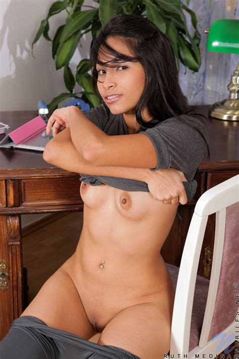 Featuring Nubiles Ruth Medina In Office Girl