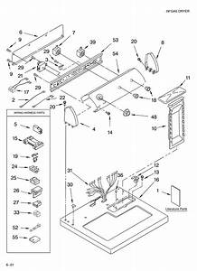 Estate Gas Dryer Parts