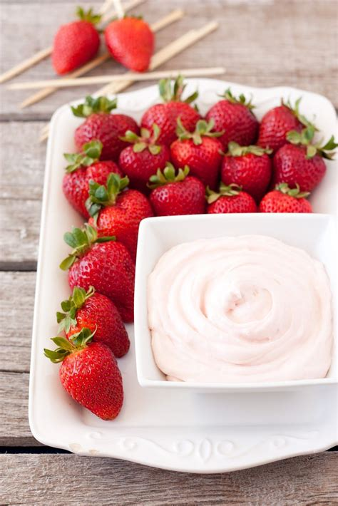 Two Ingredient Fruit Dip A 60 Second Recipe Uses