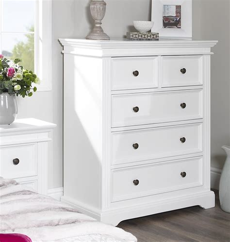 Bedroom Drawers White by Gainsborough White Bedroom Furniture Bedside Cabinets