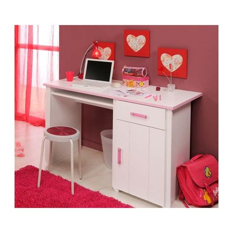 bureau blanc chambre fille paihhi com