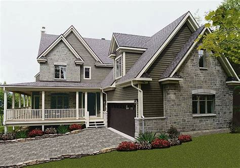 country  story house plan   turningdale