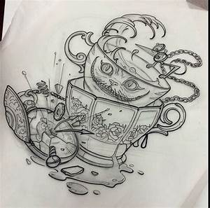 Alice in wonderland | tattoo ideas | Pinterest | Alice in ...