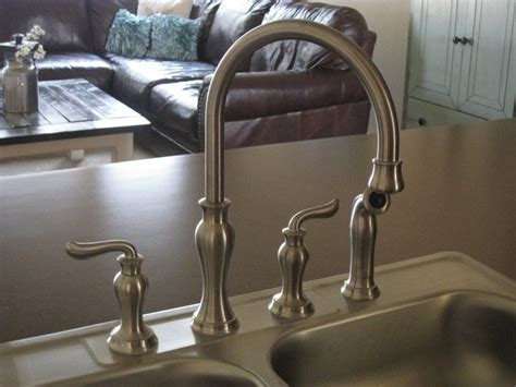 changing kitchen sink faucet changing a faucet diy shanty 2 chic