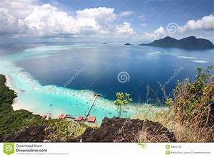 Bohey, Dulang, Island, Peak, View, Semporna, Sabah, Malaysia