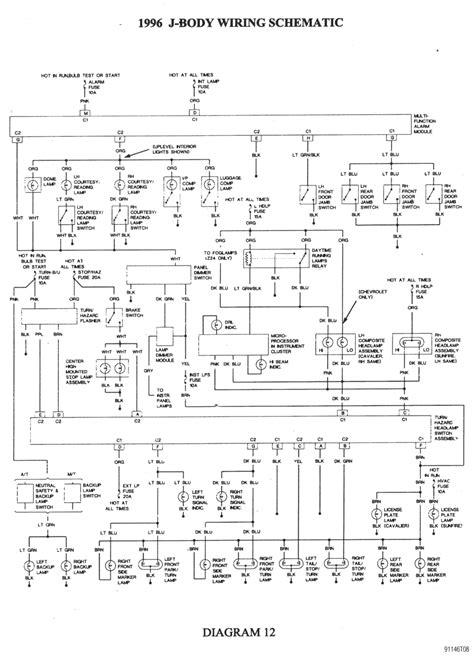 Chevy Cavalier Wiring Diagram