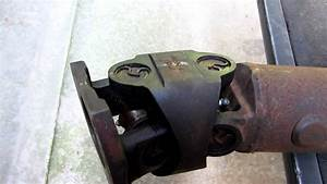 Double Cardan Joint Needing To Be Rebiult