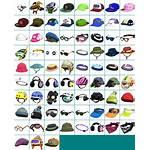 Splatoon Headgear Icons Sheet Resource Clothes Spriters