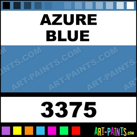 azure blue artist acrylic paints 3375 azure blue paint