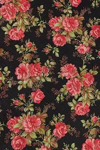 Vintage Home - Vintage Pink Roses Wallpaper. | Patterns ...
