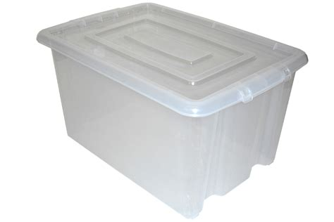 Large Clear Plastic Storage Boxes