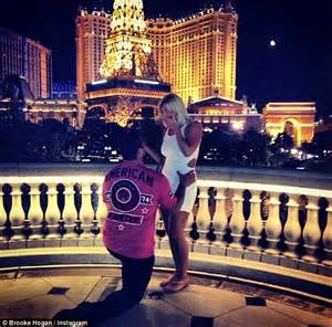 Brooke Hogan gets engaged to NFL player Phil Costa... but ...